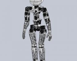 Poppy beta人形智能机器人(SolidWorks设计,提供Sldprt/Sldasm格式)