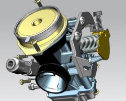 CV型化油器(UG设计,Prt格式)
