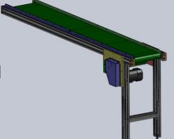 冲床下料流水线(SolidWorks设计,提供Sldprt/Sldasm格式)