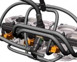 四缸柴油发动机喷油系统(ProE/Creo.Elements设计,Asm/Prt格式)