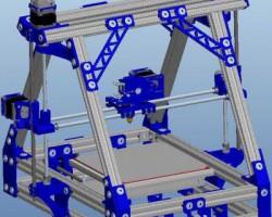 孟德尔3D打印机(ProE/Creo.Elements设计,提供Asm/Prt格式)
