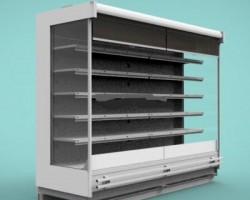 超市风幕柜(SolidWorks设计,提供Sldprt/Sldasm格式)