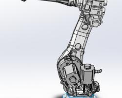 安川MH50机器人(step格式)