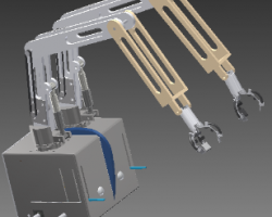 双臂机器人(Inventor设计,提供ipj/ipt/iam格式)