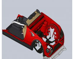 TBO标志敞篷车(SolidWorks设计,提供Sldprt/Sldasm格式)