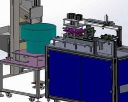 脚轮/万向轮装配机(全自动组装机)(SolidWorks设计,提供Sldprt/Sldasm格式)