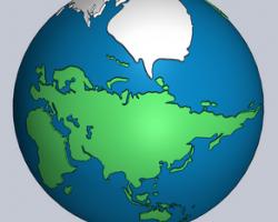 地球模型(SolidWorks设计,Sldprt格式)
