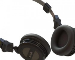 AKG-K404耳机模型 (SolidWorks设计,step/Sldprt/Sldasm格式)