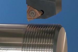 数控机床金属加工视频