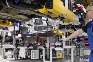 宝马5系列-德国汽车厂生产线