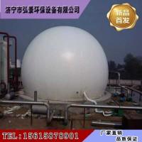 有机肥厂双膜气柜在沼气储气工程配套设备中的作用