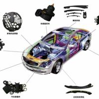 云泰供应汽车高精密注塑件产品--发动机系统高精密带嵌件注塑件
