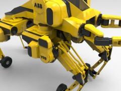 救援机器人(SketchUp/3dsMax设计,3DS/FBX/OBJ/stl格式)
