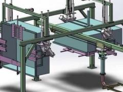 自动化搬运机器手(SolidWorks设计,提供Sldprt/Sldasm格式)