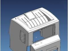 打印机外壳模具(UG设计,提供step格式)