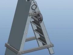7°倾斜完全自动化拖车(SolidWorks/ProE设计,提供step格式)