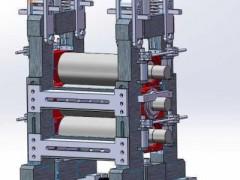 轧机机架(SolidWorks设计,提供Sldprt格式)