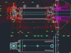 毕业设计《数控龙门铣床直角铣头的设计》 参考资料 CAD图纸(AutoCAD设计,提供dwg格式)